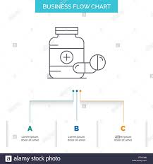 Pill Chart Medicine Pill Capsule Drugs Tablet Business Flow Chart