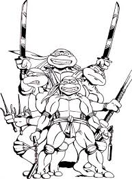 Small Picture Teenage Mutant Ninja Turtle Coloring Page Coloring Home