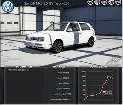 Assetto Corsa - VW Golf 3 GTI 2.0 16 V Turbo 700 hp - YouTube