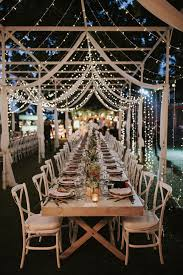 Outdoor wedding reception lighting ideas String Lights Incredible Outdoor Wedding Reception Ideas With Hanging String Lights Storymix Media Wedding String Lights Stylish Wedd Blog