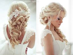 down wedding hair. Top 20 Bridal Headpieces for Your Wedding Hairstyles
