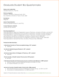 Resume Questionnaire For High School Students Sidemcicek Com