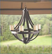 outdoor battery operated chandelier white black gazebo adscentury