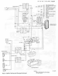 Ignition starting and charging schematic diagram of 1967 1968 rh circuitswiring