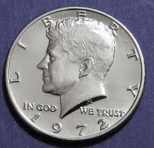 1972 Kennedy Half Dollar Value Chart 1972 Kennedy Half Dollar Coin Value Prices Photos Info