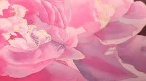 add realistic details to your watercolor flower paintings