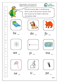 Our full collection of printable cvc worksheets. More Cvc Words And Activities Urbrainy Com
