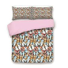 pink duvet cover set king size