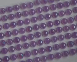Samolepící Fialové Duhové Perličky 160ks