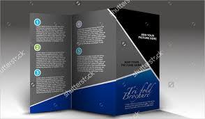 Brochure Tri Fold Design 24 Tri Fold Brochure Designs Free Psd