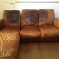 leather sofa bed for sale. Exellent Leather Used 3 Seater Brown Dfs Leather Sofa With Chaise Longue In Royston Idea 10 Bed For Sale