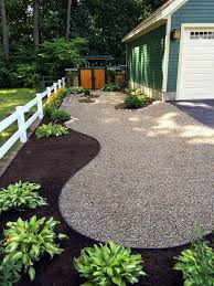 Excellent idea for part of the yard missing the river rock