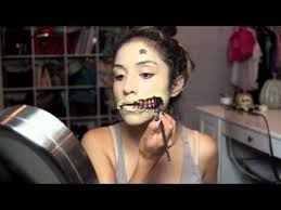 the walking dead make up tutorial see what you jpg 480x360 the walking dead zombie
