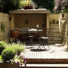 Small Picture Small Decked Garden Ideas Garden Design Ideas