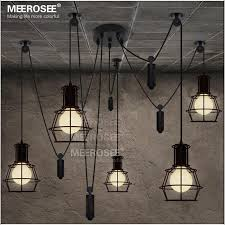 american style black pendant light fixture creative suspension light contemporary decorative hanging lamp for cafe md2825 re pendant lights ceiling fans