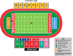 Uc Berkeley Football Stadium Seating Chart Chaparral Stadium Ebbie Neptune Field Westlake Nation