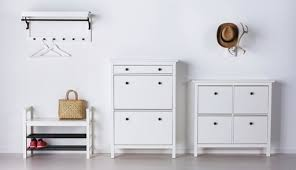 hallway furniture ikea. HEMNES White Hallway Storage Furniture For Outdoor Clothes Ikea