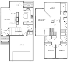 Tremont Townhomes  Our Newest Residential Option  Asbury PlaceTownhomes Floor Plans