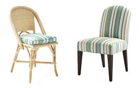 serena and lily dining chairs with perennials stripe outdoor fabric - best  upholstery fabrics