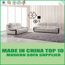 china latest living room furniture modern real leather sofa china sofa set home furniture