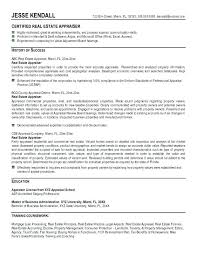 Realtor Resume Resume Examples The Proper Elegant Professional Lease