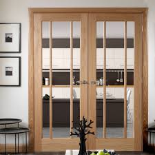closet frosted french worcester sidelights dog windows custo double oak interior door