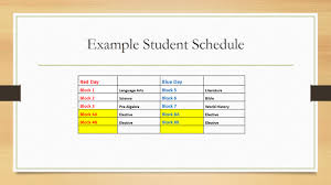 Block Scheduling Colleges Block Scheduling For 2014 2015 Christian Academy School System