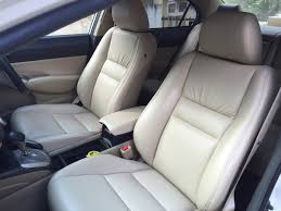 honda civic seats and door trims upholstered in luxury nappa to see more details