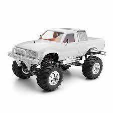 hg p407a 1/10 2.4g 4wd rc car kit for toyato metal 4x4 pickup truck ...