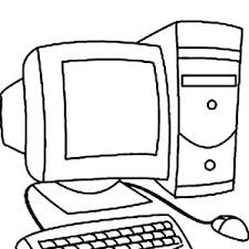 Computer Coloring Pages Computer Coloring Pages Printable Coloring