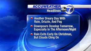 accuweather forecast maps for christmas week  abcnycom