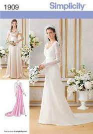 Wedding Dress Patterns 2017