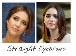 korean makeup trend 2016 3 straight eyebrows by niniko cosmetics