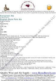 Coopers Light Liquid Malt Extract Evergreen Ale By Mark Henry English Style Pale Ale Original