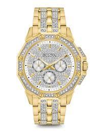 bulova 96b235 men s crystal watch bulova 98c126 men s crystal watch