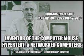 Image result for Happy Birthday Doug Engelbart – born 30 Jan 1925