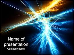 Dark Abstraction Powerpoint Template Infographics Slides