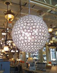 chandelier remarkable home depot chandeliers chandelier modern large round crystal wih black round motif and