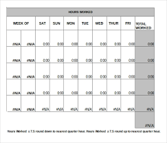 Free Monthly Timesheet Template Excel 26 Monthly Timesheet Templates Free Sample Example