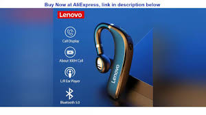 Cheap New Origina <b>Lenovo HX106</b> Bluetooth <b>Earphone</b> with ...