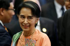 u s lifting sanctions on myanmar as suu kyi s pbs newshour