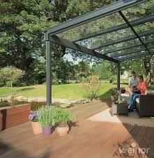 weinor terrazza glass roof extension