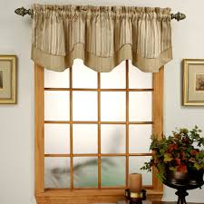 Small Picture Windsor Jacquard Layered Valance Walmart Com Curtain Window Gray