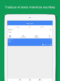 google traductor en app