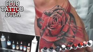 Tattoo Trash Polka Rose Realistic трэш роза начало рукава
