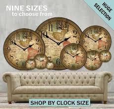 big wall clocks nine sizes to choose from image modern big wall clocks india