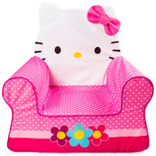 hello kitty furniture. Marshmallow Furniture, Children\u0027s Foam Comfy Chair, Hello Kitty, By Spin Master Image 1 Kitty Furniture
