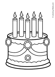 Small Picture 20 best Birthday coloring pages images on Pinterest Coloring