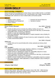 Best Of Newest Resume Format 5 Latest Cv Format 2016