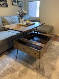 diy lift top coffee table step by step